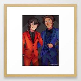Suit Bois Framed Art Print