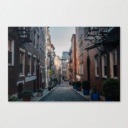 The North End, Boston Canvas Print