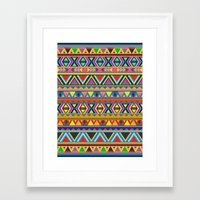 play Framed Art Prints featuring PLAY by Bianca Green
