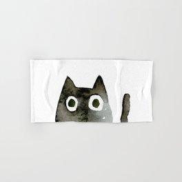 I Love Cats No.13 by Kathy Morton Stanion Hand & Bath Towel