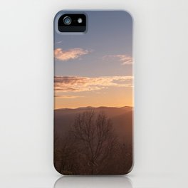 North Georgia Mountains 6 iPhone Case