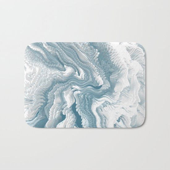 Abstract pattern 222 Bath Mat