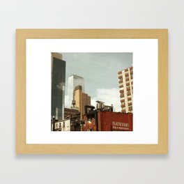 Playwight ∆ Framed Art Print
