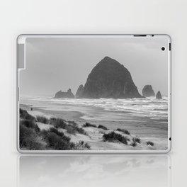 Haystack Rock at Cannon Beach Laptop & iPad Skin