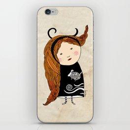 Aries girl iPhone Skin