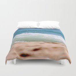 Crashing Ashore Duvet Cover