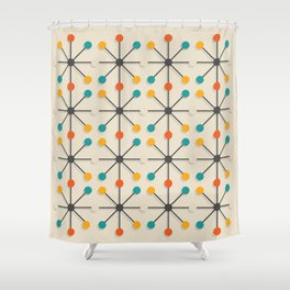 Midcentury Pattern 02 Shower Curtain