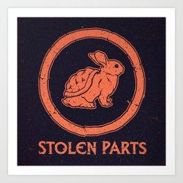Stolen Parts Art Print