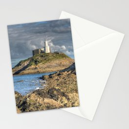 Swansea Lighthouse Mumbles Stationery Cards