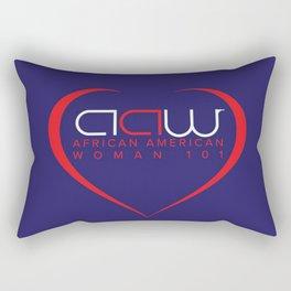 AAW101 Blue Rectangular Pillow
