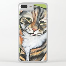 Kiwi the Kitty Clear iPhone Case
