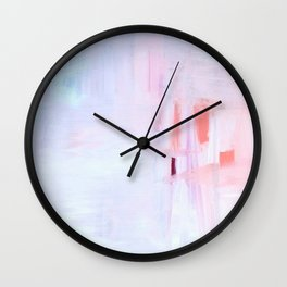 SUNSET AT SNOWY RiVER Wall Clock