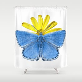 Adonis Butterfly Shower Curtain