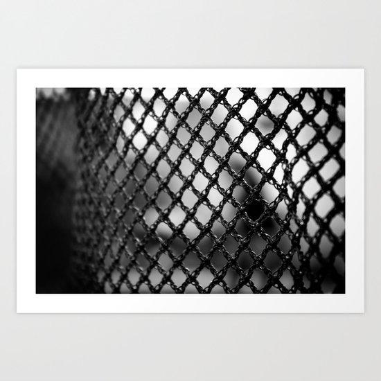 Web of Protection Art Print