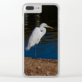 Great_Egret - Nevada Clear iPhone Case