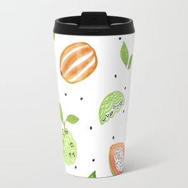 Papaya & Custard Apple Travel Mug