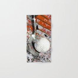 Modern Golf Art 3 Hand & Bath Towel