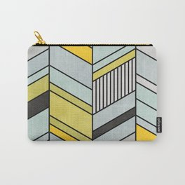 Abstract chevron pattern Carry-All Pouch