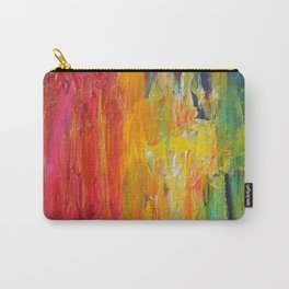 Ombre Rainbow Sunset Carry-All Pouch