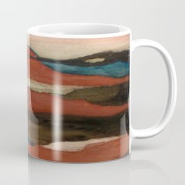 """a dark february"" abstract watercolor painting Coffee Mug"