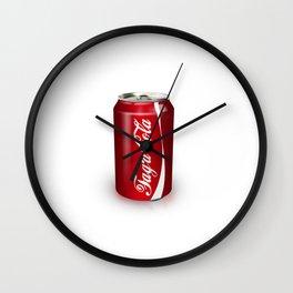 Enjoy Fag'a'cola Wall Clock