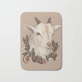 Goat and Figs Bath Mat