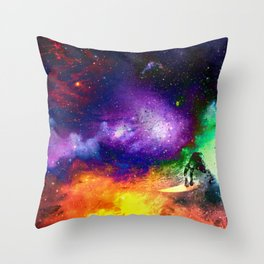 Henry Hydrus Throw Pillow