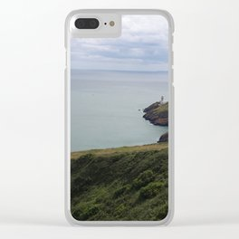 Hiking Howth Clear iPhone Case