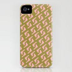 Forest Green Gun Pattern iPhone (4, 4s) Slim Case