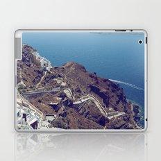 Santorini Stairs Laptop & iPad Skin