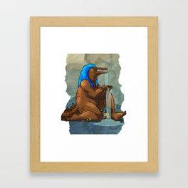 Sobek Framed Art Print
