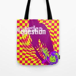 Strange Child Trippy Art Tote Bag