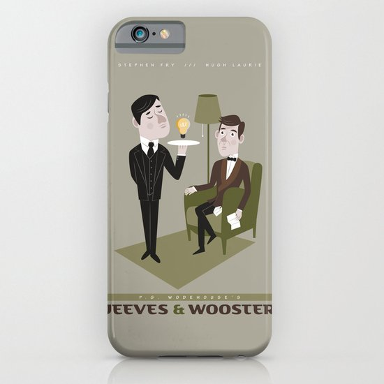 Jeeves & Wooster iPhone & iPod Case