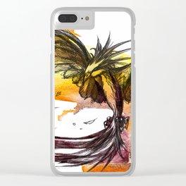 Ave fénix Clear iPhone Case