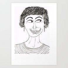 Happy and Loco Art Print