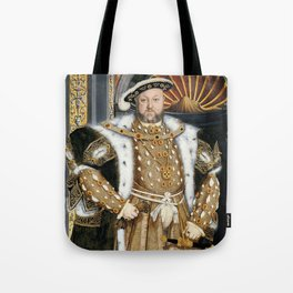 Henry VIII portrait Tote Bag