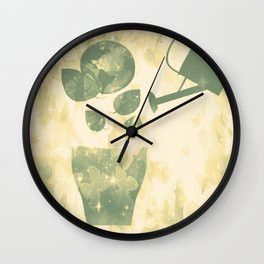 Water is Life-Earth Day 2 Wall Clock