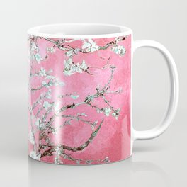 Van Gogh Almond Blossoms : Pink & Aqua Coffee Mug