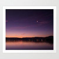 Lake Illawarra Art Print