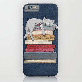 How to Chill Like a Cat iPhone Case