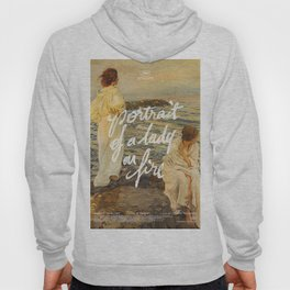 portrait of a lady on fire sunset Hoody
