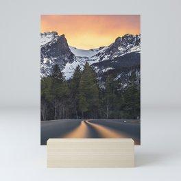 Rocky Mountain Way Mini Art Print