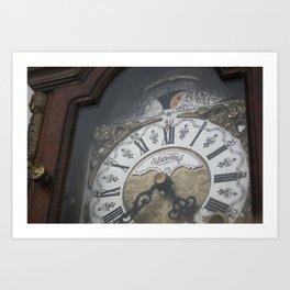Clocks Art Print
