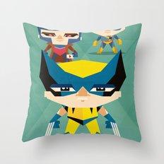 X Men fan art Throw Pillow