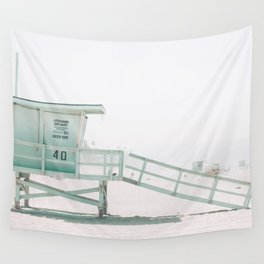 lifeguard stand Wall Tapestry