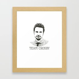 Team Crosby Framed Art Print