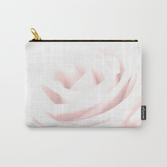 GENTLENESS #2 - Rose in Rose Quartz #decor #art #society6 Carry-All Pouch