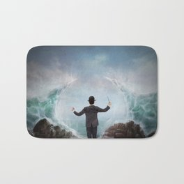 The Sea Conductor Bath Mat