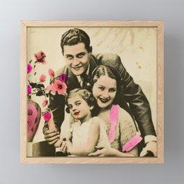 The OG Addams Family Framed Mini Art Print