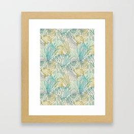Flowing sea 2 Framed Art Print